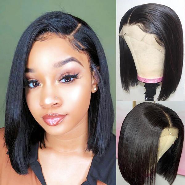 Real Human Hair Short Wigs 59 Off Awi Com