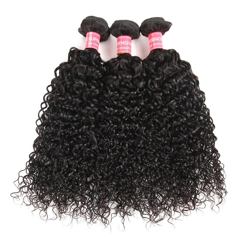 Curly Weave Hairstyles Peruvian Hair 3 Bundles Curly Human Hair Weave