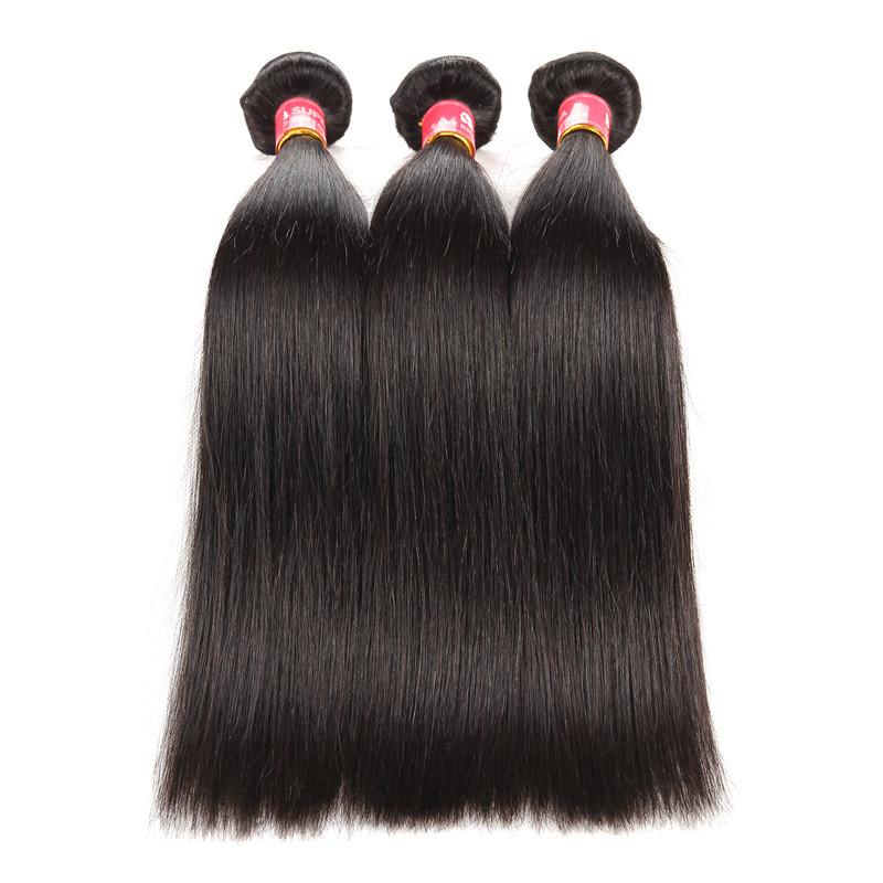 peruvian hair weaves straight human hair 3 bundles good