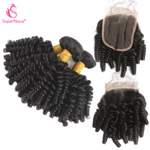 Kinky Curly Hair 3 Bundles