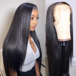 Pre-Made Fake Scalp Wigs