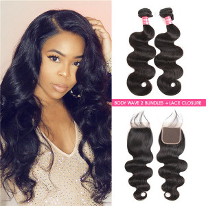 Body Wave Hair With Closure
