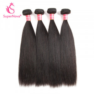 Peruvian Straight Virgin Human Hair Weaves