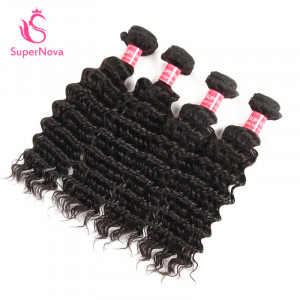 Deep Wave Hair 4 Bundles