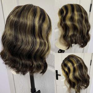 lace closure wig human hair