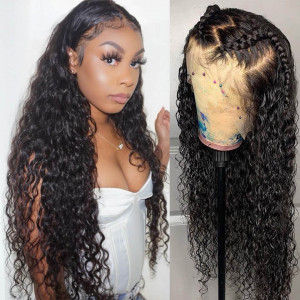 Natural Wave 13*4 Lace Frontal Wig