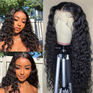 Natural Wave Lace Front Wigs