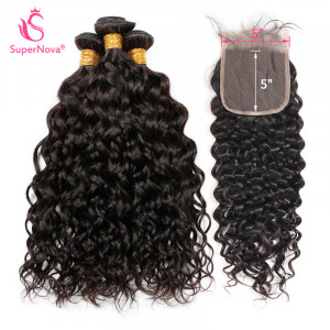 Natural Wave Weave with closure