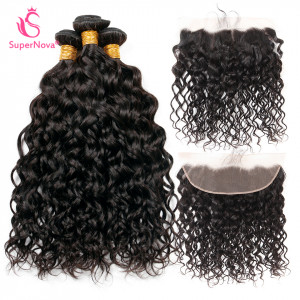 natural wave weave with frontal