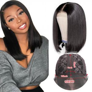 short bob lace wig