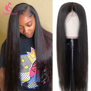 Straight Silk Base Lace Front Wigs