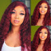 99J loose deep lace front wigs