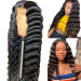 long crimped wig