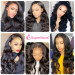 Body Wave Pre-Made Bald Cap Wigs