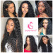 Deep Wave 5*5 Lace Closure Wig