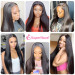 Human Lace Front Wigs With Baby Hair
