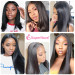 Straight HD Lace Front Wigs