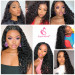 Water Wave Lace Closure Wigs