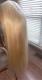 So far the hair is soft and beautiful. It's t