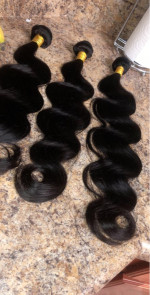 This hair is amazing! Very soft, tangle free,