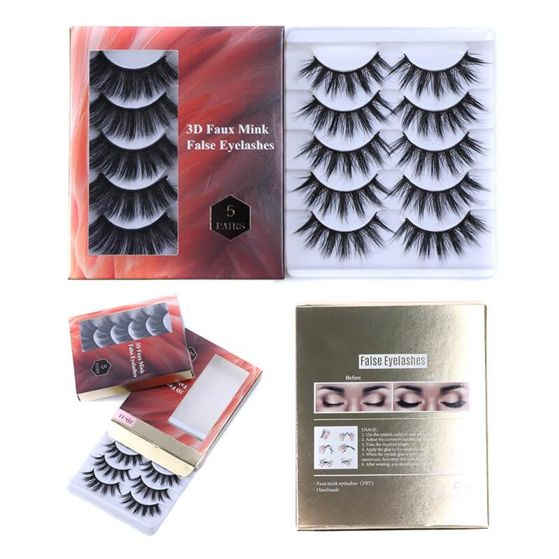 25mm Eyelashes 3D Mink Eyelashes European