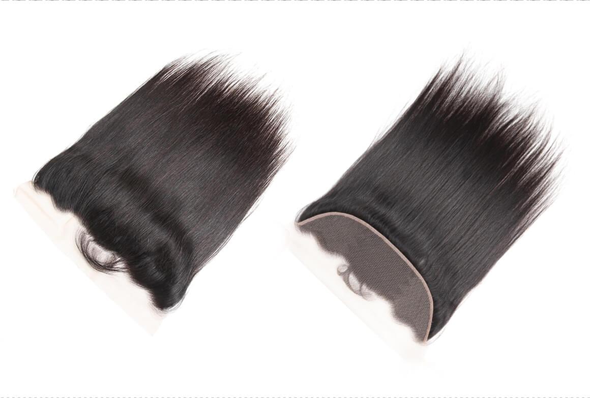 human hair bundles with frontal