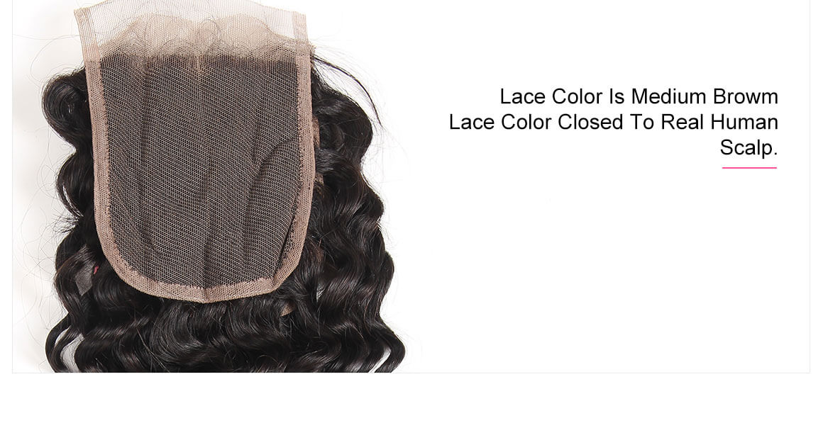 100 human hair bundles with closure