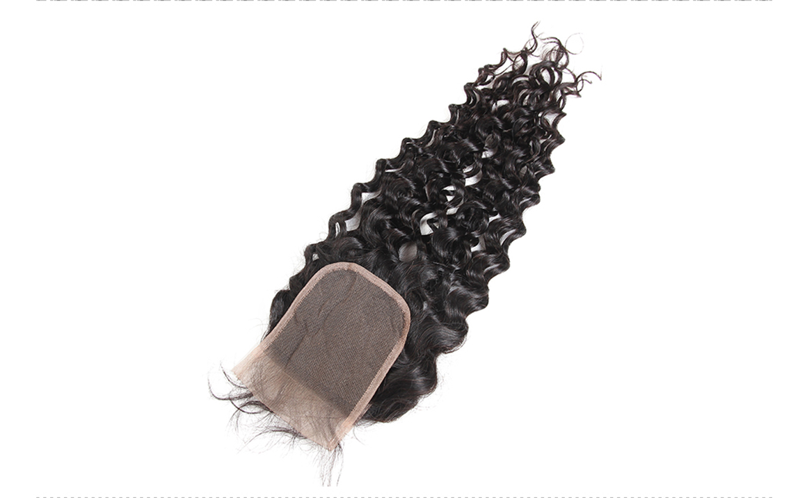 cheap human hair bundles with closure