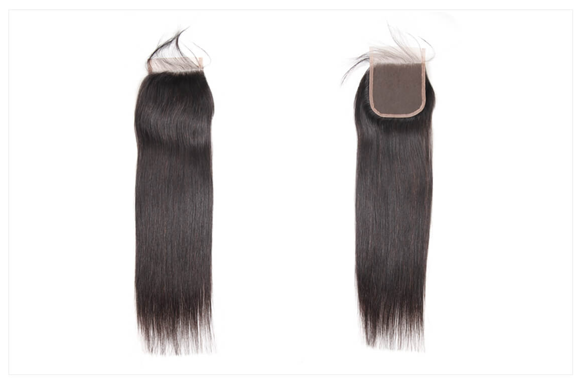 hair weave bundles with closure