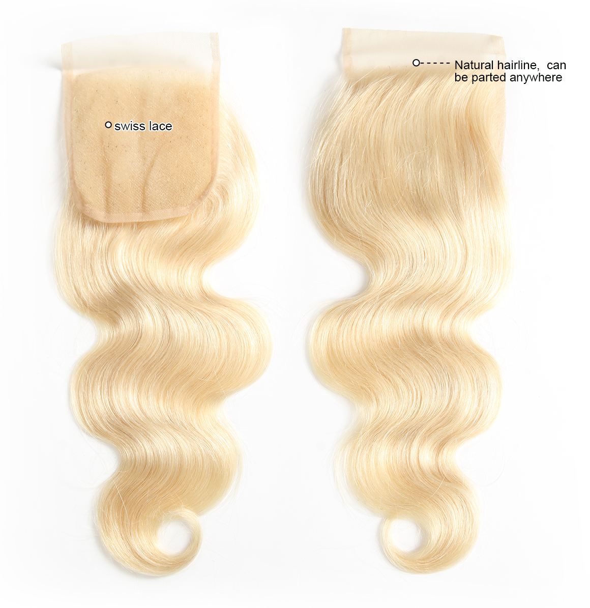 blonde weave human hair