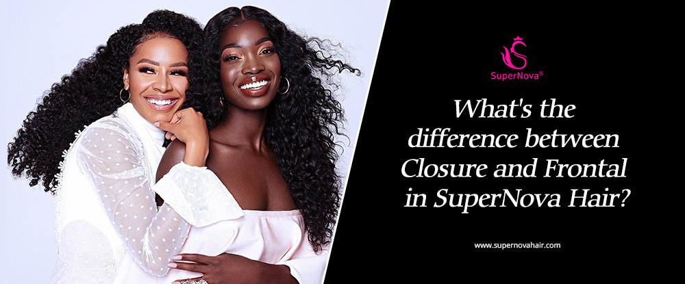 What's the difference between Closure and Frontal in SuperNova Hair?
