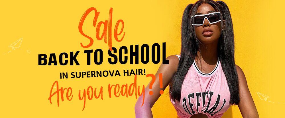 Back To School Sale in SuperNova Hair