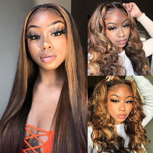 How to care for highlight human hair wigs