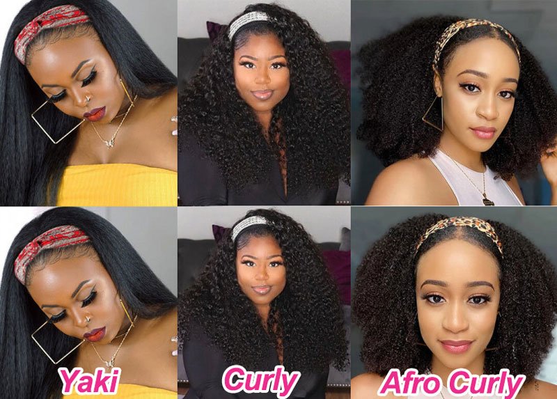 Halloween Hairstyles headband wigs
