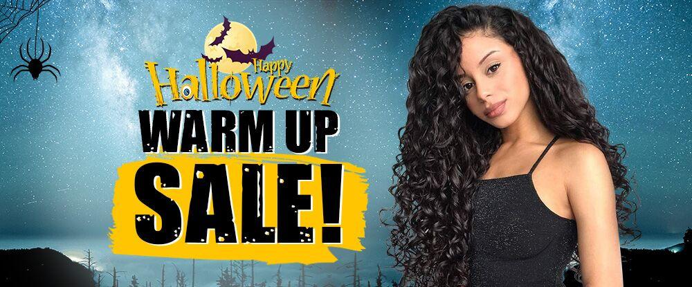 Happy Halloween Warm Up Sale