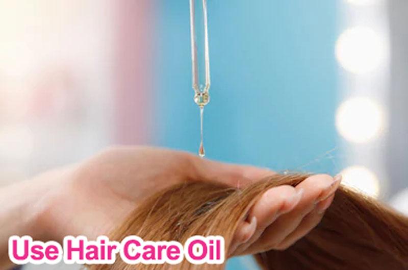 use hair care oil