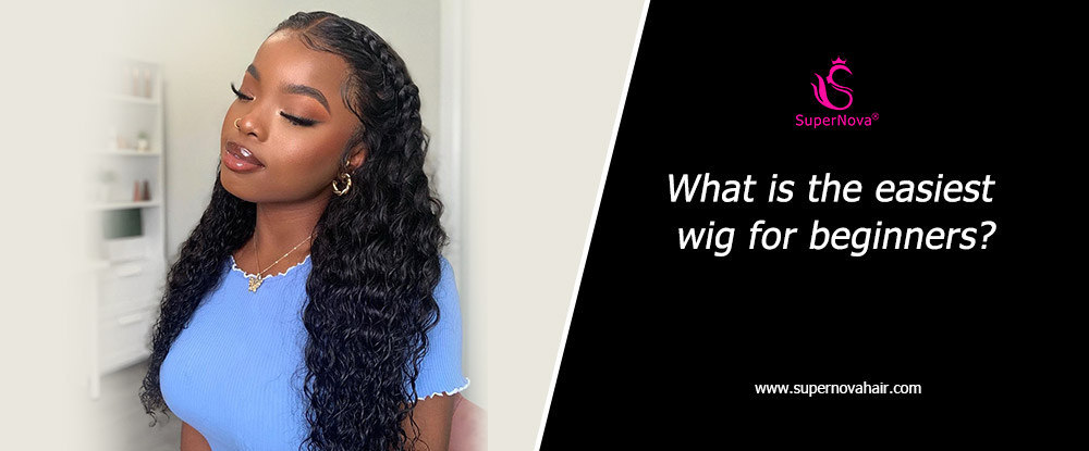 What is the easiest wig for beginners?