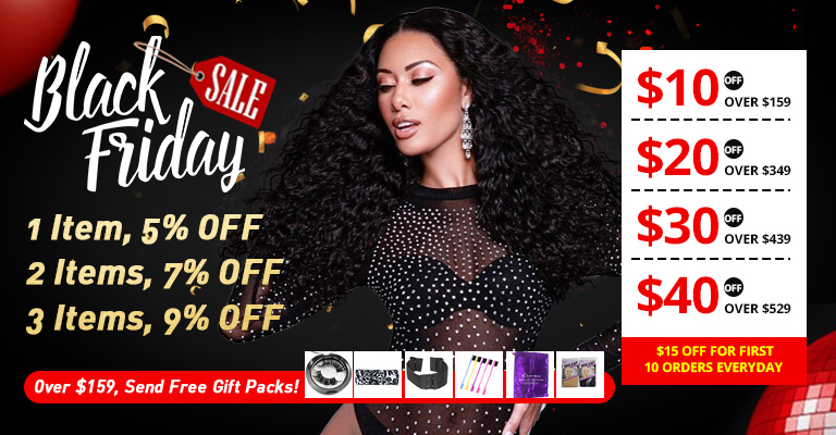 Following are some available special promotional activities in SuperNova Hair