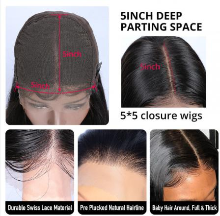 Why Choose Lace Closure Wig