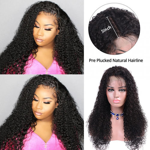 human hair lace closure wigs