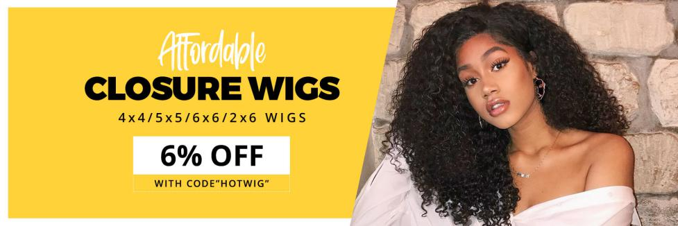 Where can buy 4x4 lace closure wigs