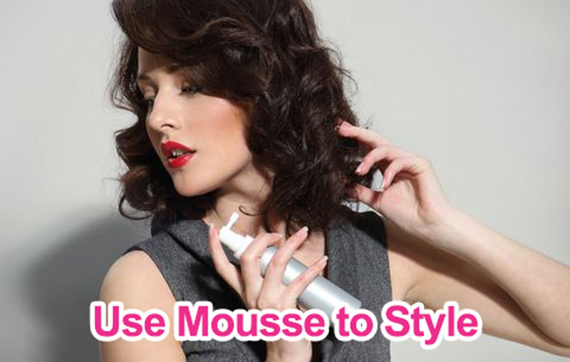 use mousse to style
