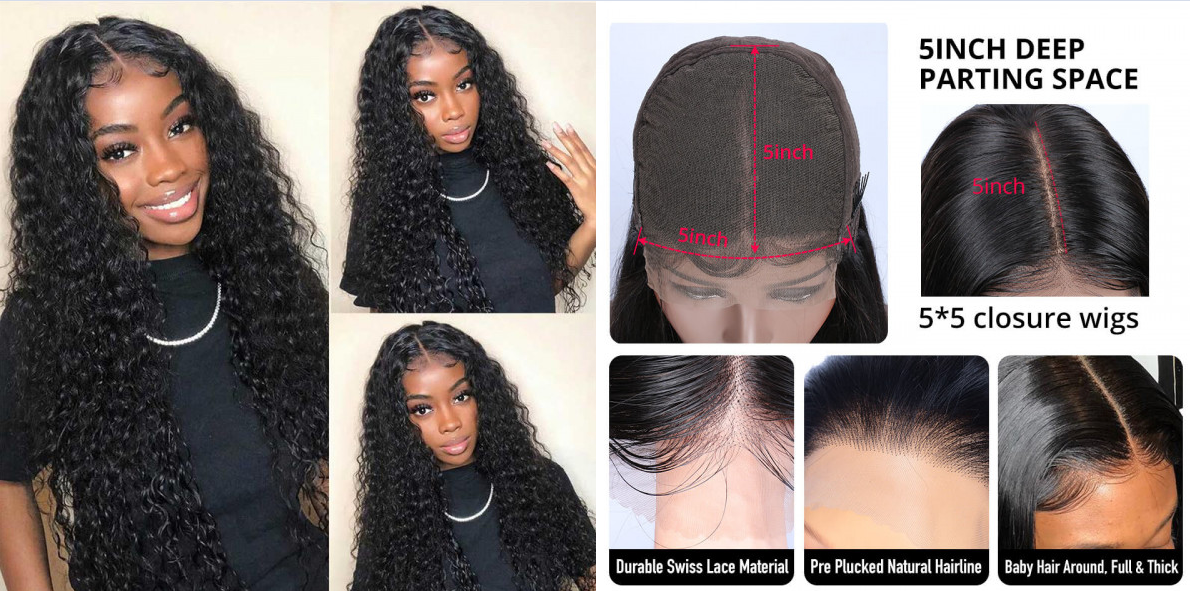 Reasons for Wearing 5x5 HD Lace Closure Wig