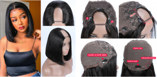 What Is The Difference Between A U Part Wig And Headband Wig?
