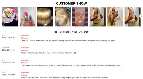 Why Choose SuperNova Human Hair Wigs?