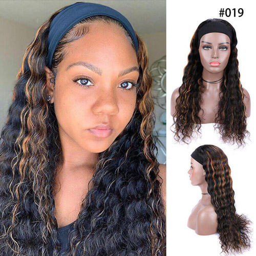 Why Are #019 Highlight Headband Wigs So Popular?