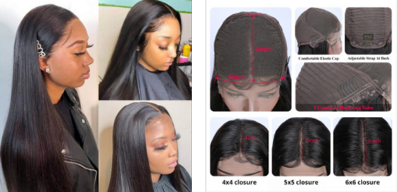 Introduction Of All Types Of HD Wigs Products