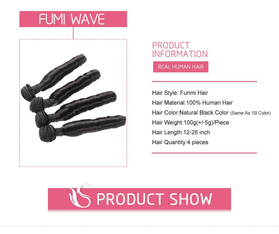 Funmi Hair Weave Fumi Curls Virgin Human Hair Loose Wave