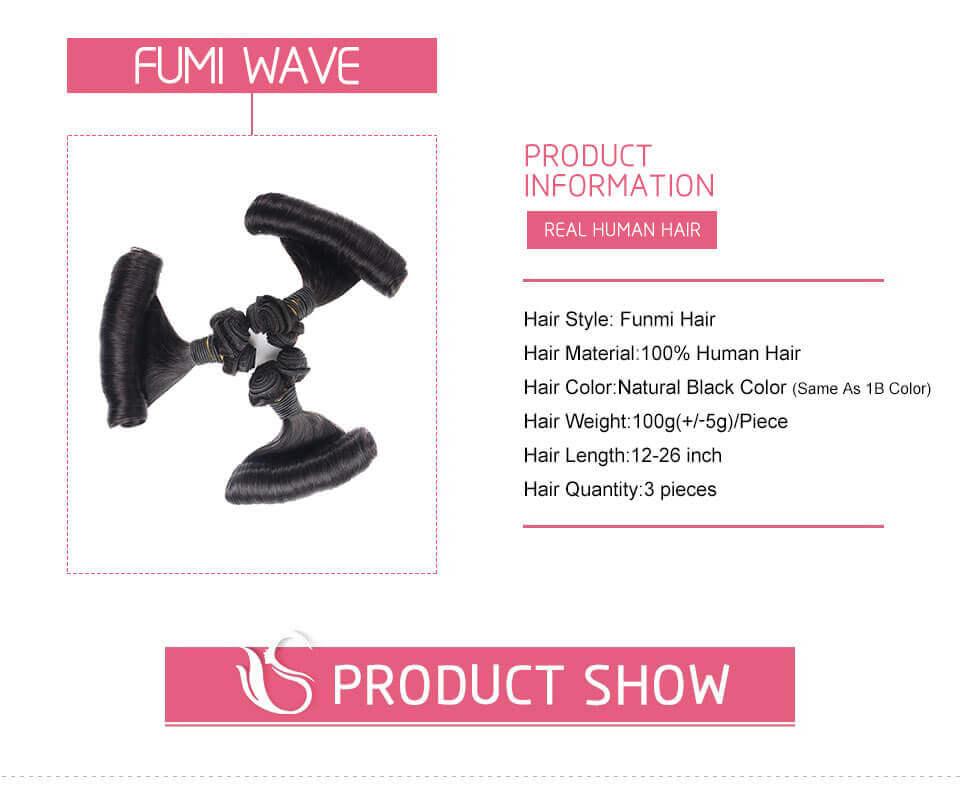 Aunty Funmi Curly Human Hair Curly Weave 3 Bundles Fumi
