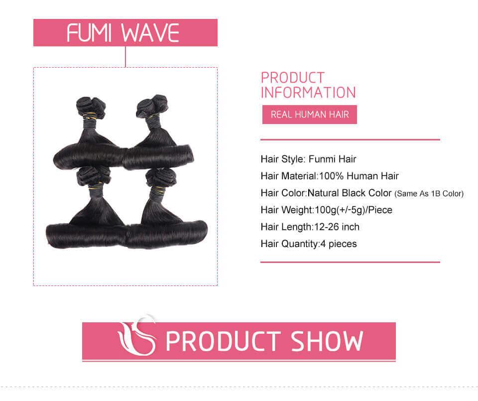 Aunty Funmi Hair Curly Weave 4 Bundles Virgin Human Hair